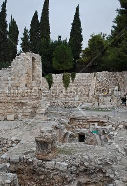 Pool of Bethesda; Jerusalem