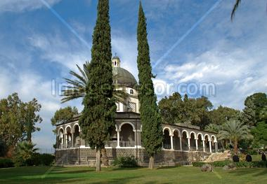 The Franciscan Church of the Beatitudes; Israel