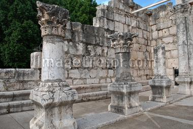 Ruins of the synagogue; Capernaum